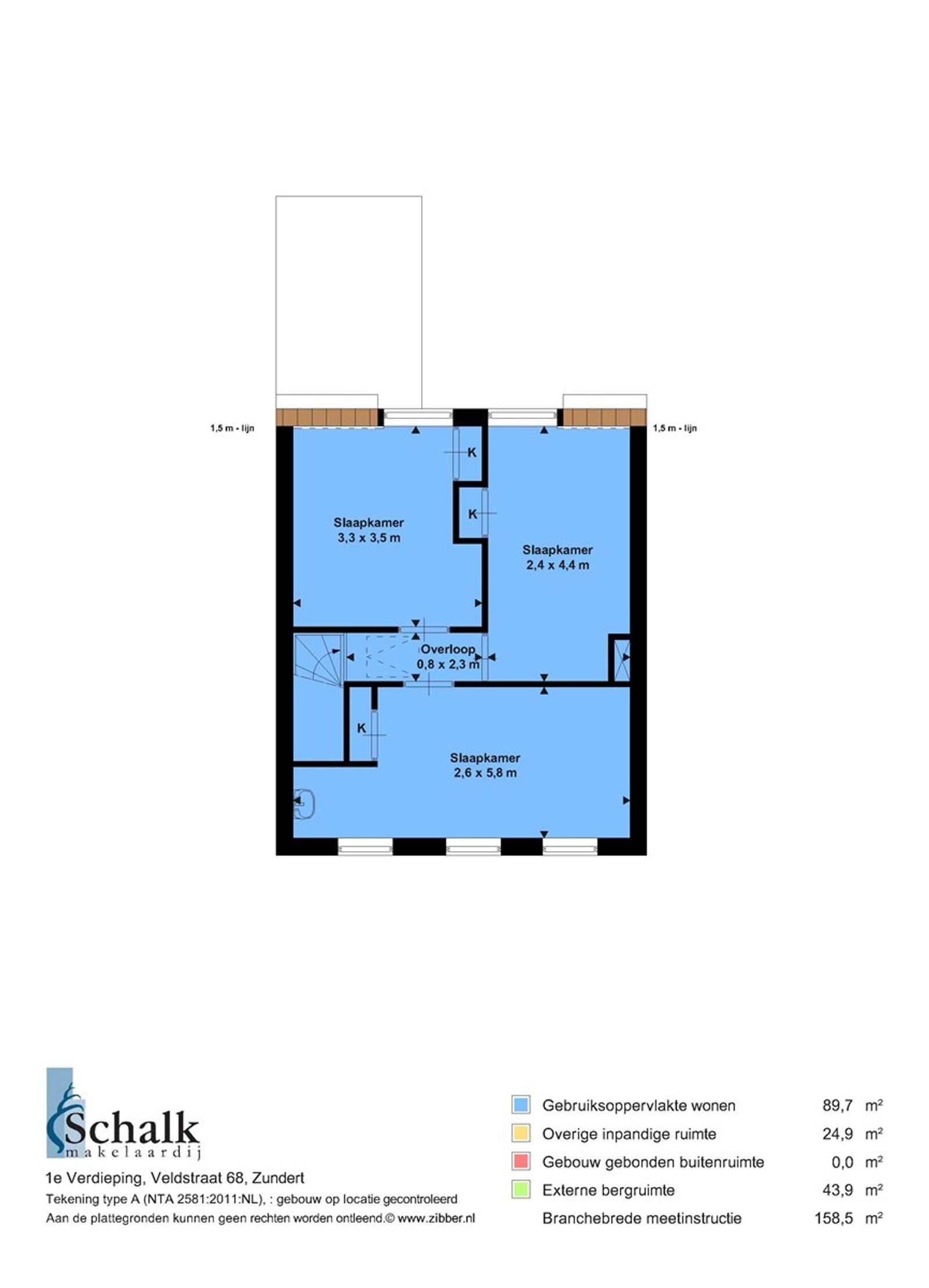 Twee-onder-een-kapwoning met vrijstaande schuur en aaneen gebouwde garage gelegen nabij de dorpskern van Zundert. De woning heeft op de begane grond een ruime woonkamer, leefkeuken in rechte opstelling, een kelder en een badkamer uitgerust met een ligbad met douche. De eerste verdieping heeft 3 ruime slaapkamers. Middels een vlizotrap is de bergzolder bereikbaar.   Achter de schuur met garage bevindt zich nog een (moes)tuin.   Men dient rekening te houden met eventuele modernisering en/of verbouwingskosten   BEGANE GROND Entree/hal met toegang tot de woonkamer en vaste trap naar de eerste verdieping.  Afwerking- vloerbedekking, Granol op de wanden en een houten schroten plafond.  Meterkast- 4 groepen en aardlekschakelaar.   Kelder met opstelling van de CV ketel (merk- AWB, bouwjaar- 2016).   Afwerking- tegelvloer, betegelde wanden en een stucwerk plafond.   Woonkamer met voormalig gashaard met schouw (gasaansluiting is afgesloten).  Afwerking- vloerbedekking, Granol op de wanden en een sierbalken plafond.   Toiletruimte  Afwerking- tegelvloer, betegelde wanden en een kunststof plafond.   Rechte leefkeuken uitgerust met een betegeld aanrechtblad, 1 spoelbak, 4 pits gaskookplaat, elektrische oven en afzuigkap. Tevens is de ruimte voorzien van een rolluik.  Afwerking- tegelvloer, deels betegelde en deels Granol op de wanden.  Het plafond is afgewerkt met kunststof.   Nette badkamer uitgerust met een ligbad met douche en 1 wastafel.  Afwerking- tegelvloer, betegelde wanden en een kunststof plafond.   EERSTE VERDIEPING Overloop met toegang tot drie slaapkamers. Afwerking- vloerbedekking, Granol op de wanden en een houten schroten plafond met spotverlichting.   Slaapkamer 1- gelegen aan de voorzijde en voorzien van een vaste kast.  Afwerking- laminaatvloer, behangen wanden en een MDF plafond.   Slaapkamer 2- gelegen aan de rechter achterzijde en voorzien van een vaste kast.  Afwerking- vloerbedekking, behangen wanden en een kunststof delen plafond.   Slaapkamer 3- gelegen