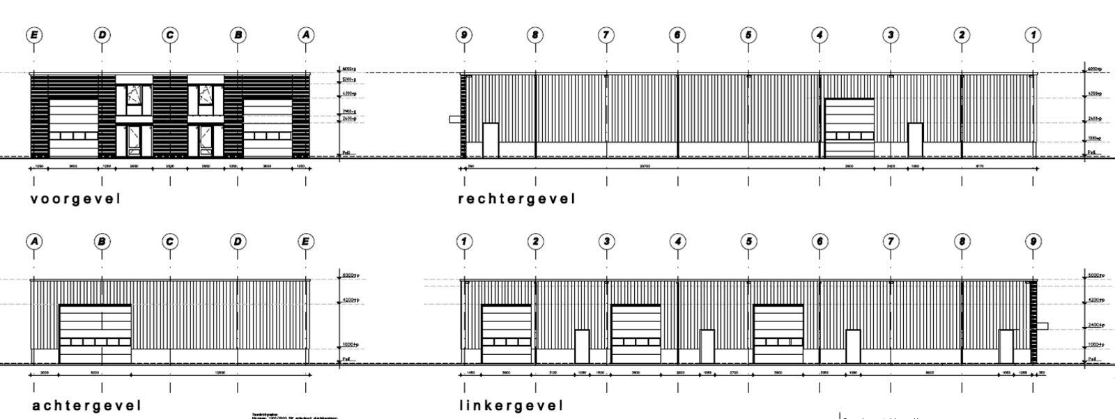 """Op het jongste bedrijventerrein van de Gemeente Zundert """"Beekzicht"""" wordt een kleinschalig bedrijfsverzamelgebouw gerealiseerd. Het bedrijfsverzamelgebouw beslaat in totaal 800 m² en kan verdeeld worden in diverse units van minimaal 100 m² eventueel met kantoorruimte. Het bedrijventerrein is erg gunstig gelegen en is met een goede toegankelijkheid middels uitvalswegen richting de A16 en A58 in de nabijheid. In de bijlage wordt een indicatieve indeling van het te realiseren bedrijfsverzamelgebouw weer gegeven. Naar gelang de wens van koper en de beschikbaarheid kan de indeling aangepast worden.  TECHNISCHE OMSCHRIJVING - Deuren en kozijnen - Houten deuren en kozijnen, kleur- Ral 7021 (ook van roldeuren) - Vloeren - Gevlinderde betonvloer - Platte dak - Dakplaten met daarop PVC dakbedekking - Isolatie - Vloer, platdak en gevels; spouwmuur en sandwichpanelen  Kantoorruimte- - Gevels- Baksteen - Mangaan, wildverband Voegwerk - Zandcement, donkergrijs. - Binnenzijde- stucwerk wanden en systeemplafond, voorzien van een keukenblok  Bedrijfsruimte- - Gevels- Sandwichpanelen - Ral 7046 Borstwerking - Betonpanelen, naturel. - Binnenzijde- glad staal constructie op kleur gespoten, kalkzandsteen veiling blokken  Overige informatie - Buitenterrein wordt geklinkerd - Units zijn uitgevoerd met meterkast - PV (Zonnepanelen) kunnen voorzien worden met meerwerk"""